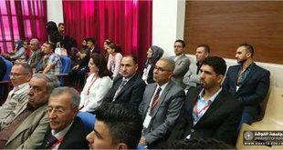 تدريسين من كلية التربية البدنية وعلوم الرياضة يشاركون في الورشة الدولية في جامعة السليمانية