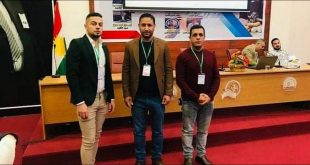 Three teachers from the college participate in a workshop at the University of Sulaymaniyah